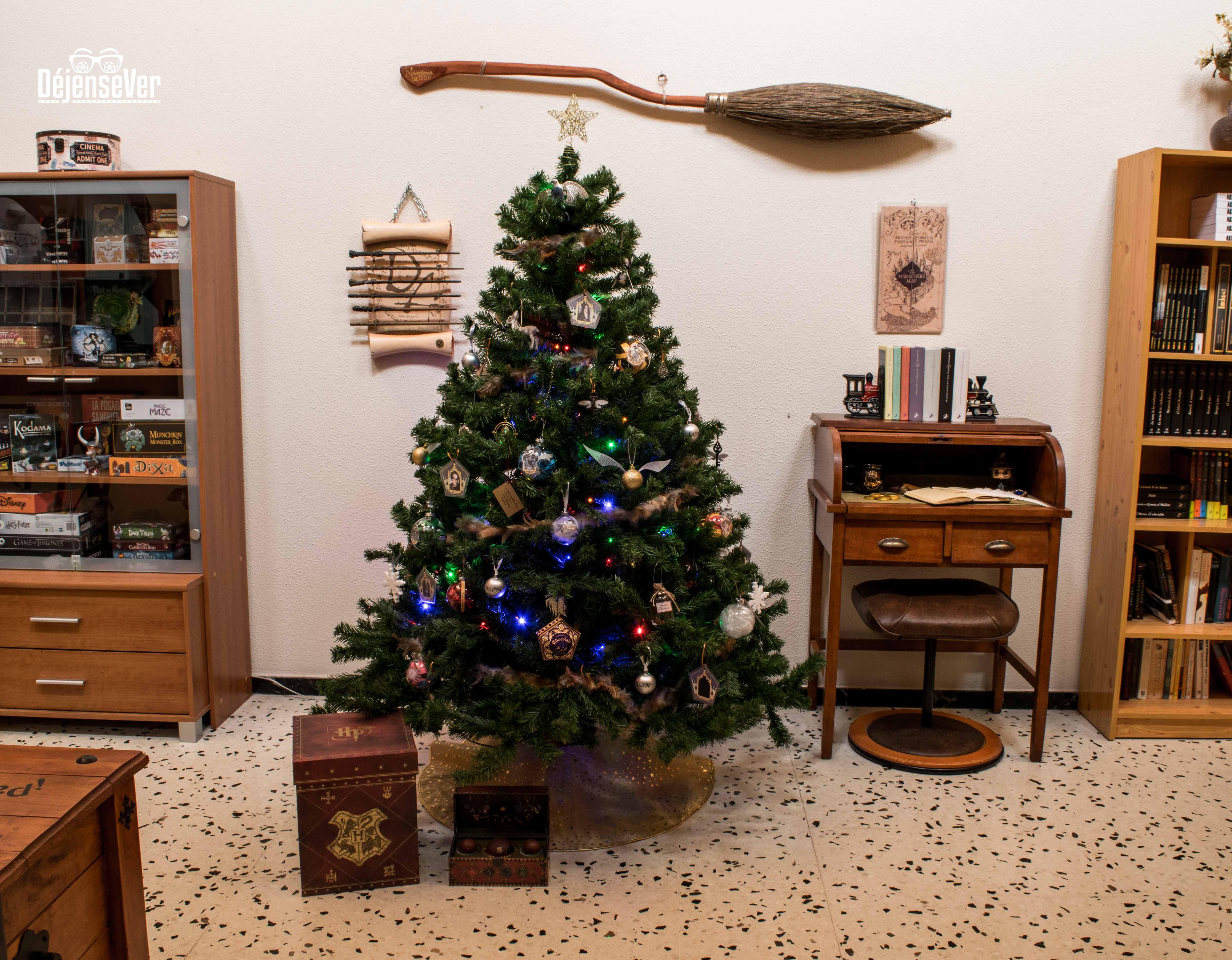 Llega la frikinavidad tem tica harry potter d jensever for Harry potter cuartos decoracion