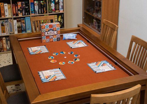 Ya llegó nuestra mesa, ¡Que empiece el juego!