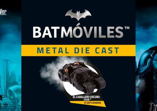 Batmóviles Metal Die Cast Periódico Marca